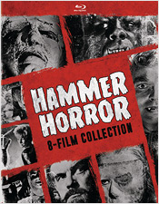 The Hammer Horror: 8-Film Collection (Blu-ray Disc)