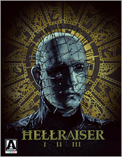 Hellraiser Trilogy (Region B Blu-ray Disc)