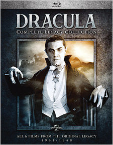 Dracula: Complete Legacy Collection (Blu-ray Disc)
