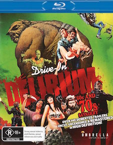 Drive-In Delirium: '60s and '70s Savagery (Blu-ray Disc)