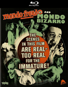 Mondo Bizarro and Mondo Freudo (Blu-ray Disc)