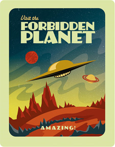 Forbidden Planet (Zavvi Steelbook Blu-ray)