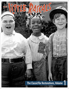 The Little Rascals: ClassicFlix Restoration Volume 1 (Blu-ray Disc)