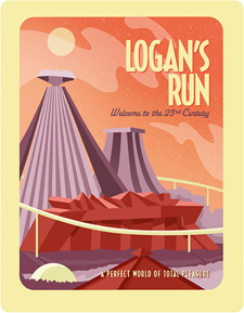 Logan's Run (Zavvi Steelbook Blu-ray)