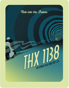 THX 1138 (Zavvi Steelbook Blu-ray)