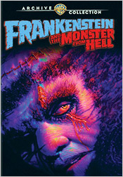 Frankenstein and the Monster from Hell (MOD DVD-R)