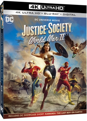 Justice Society: World War II (4K Ultra HD)