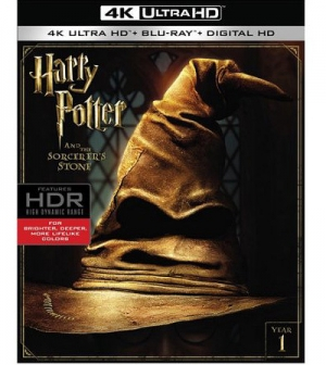 Harry Potter 1-4 on 4K Ultra HD
