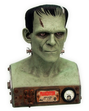 Win Factory Entertainment's Frankenstein VFX Bust!