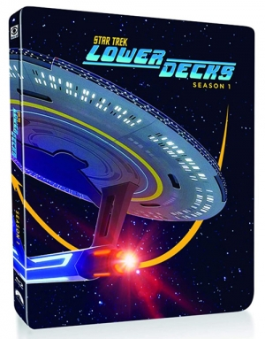 Star Trek: The Lower Decks (Steelbook Blu-ray Disc)