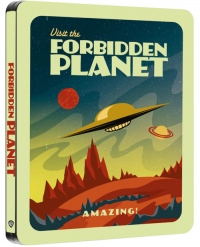 Forbidden Planet (Zavvi-exclusive Steelbook Blu-ray)