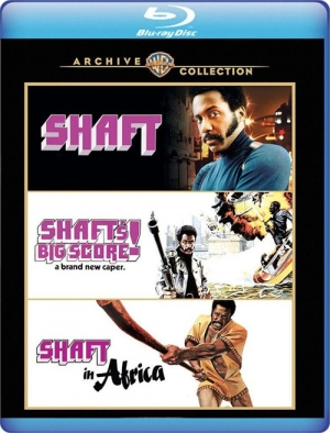 Shaft Triple Feature (Blu-ray Disc)