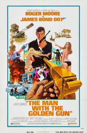 The Man with the Golden Gun one sheet