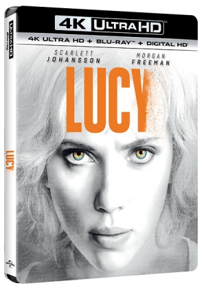 Lucy in 4K Ultra HD Blu-ray