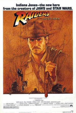 Raiders of the Lost Ark one sheet