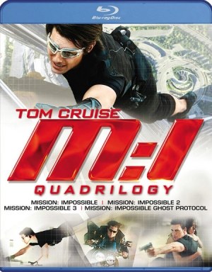 Mission: Impossible Quadrilogy on Blu-ray