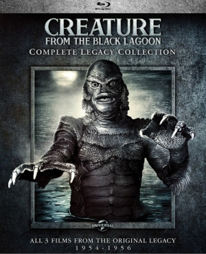 The Creature from the Black Lagoon: Complete Legacy Collection (Blu-ray Set)