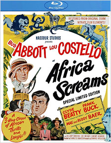 Africa Screams: Special Limited Edition (Blu-ray Review)