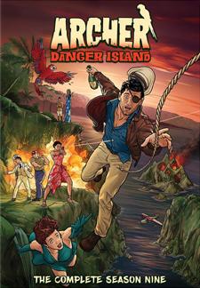 Archer: Danger Island - The Complete Season Nine (DVD Review)