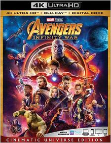 Avengers: Infinity War (4K UHD Review)