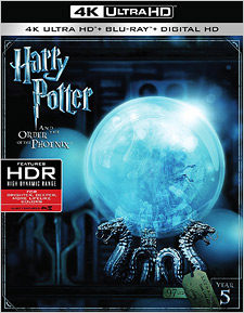 Harry Potter and the Order of the Phoenix (4K UHD Review)