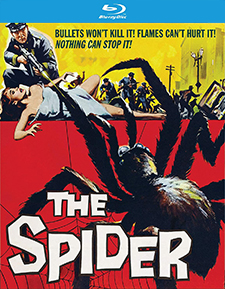 Spider, The (aka Earth vs. the Spider) (Blu-ray Review)